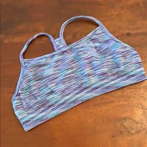 Girls sports bra
